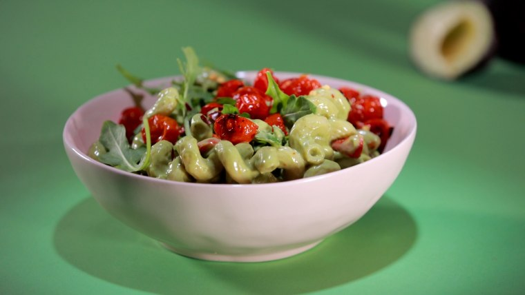 You won't miss the heavy cream in this rich but healthy pasta dish.