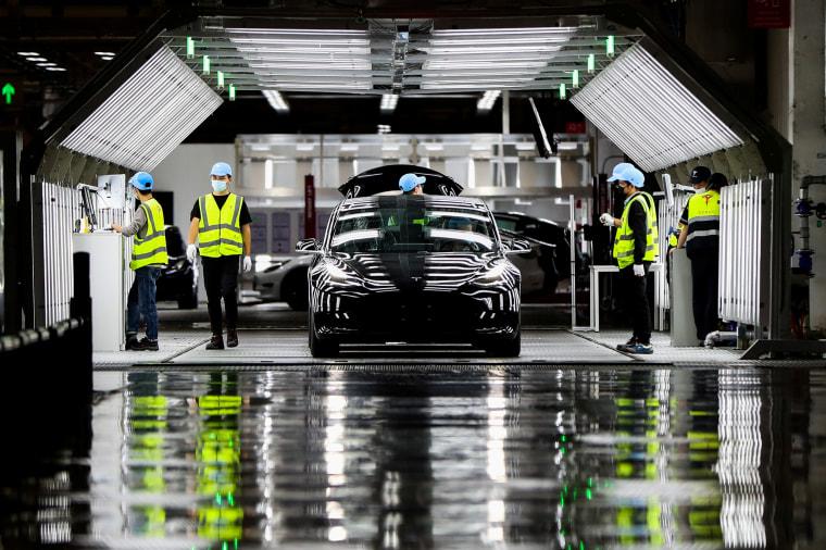 Image: The Tesla Gigafactory in Shanghai
