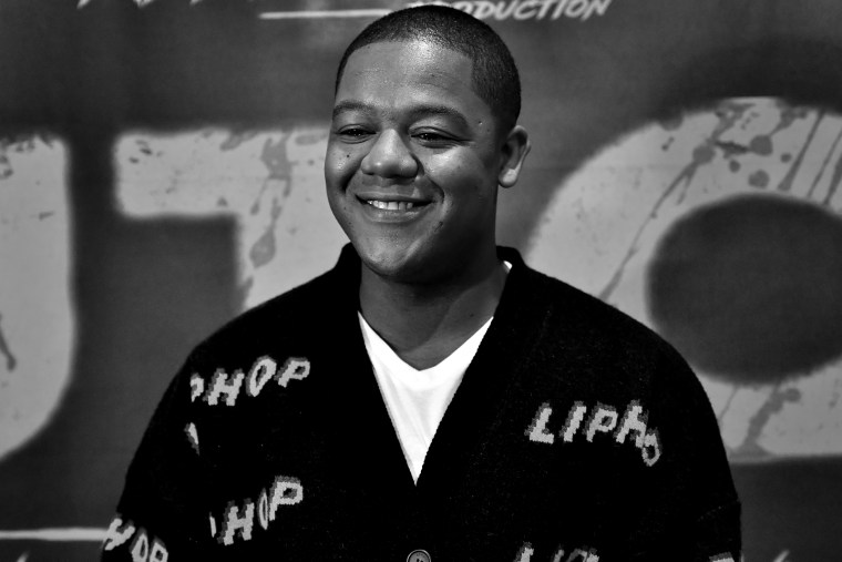 """Actor Kyle Massey attends the \""""Dutch\"""" Atlanta Premiere at AMC Phipps Plaza on March 8, 2021 in Atlanta."""
