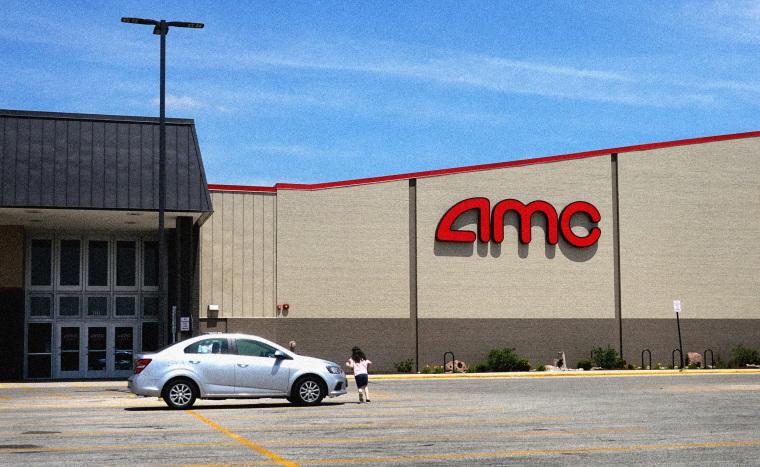 Image: An AMC theater in Norridge, Ill., on June 1, 2021.