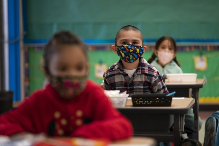 Image: California schools mask mandate