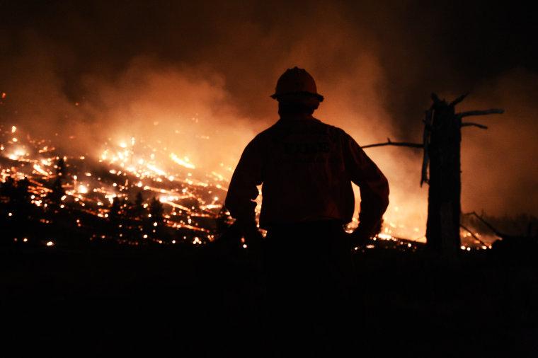 Image: Wildfire in California