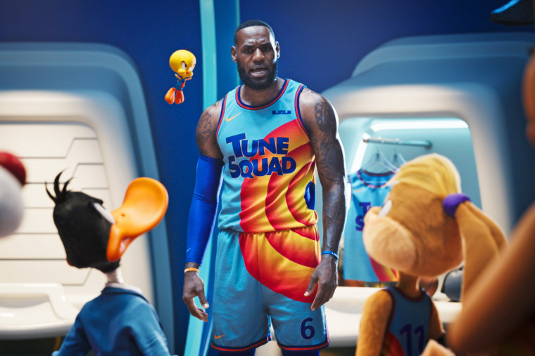 """LeBron James in the Warner Bros. remake """"Space Jam: A New Legacy."""""""