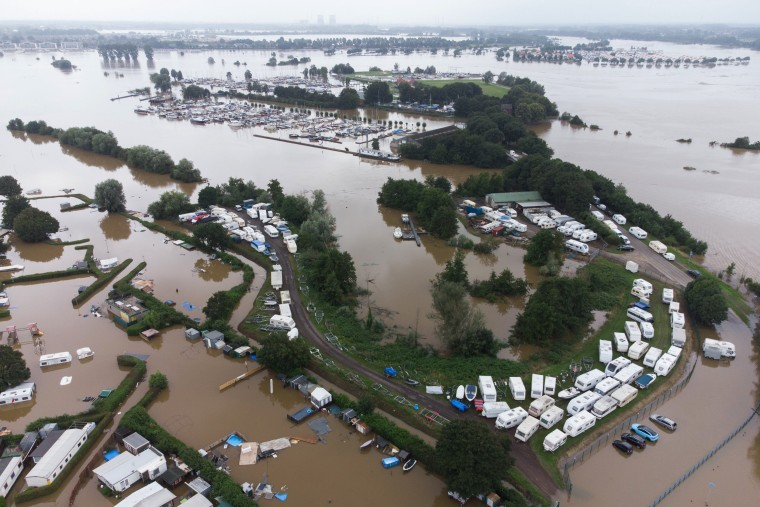 Image: Dutch Government Declare Regional Floods As Disaster