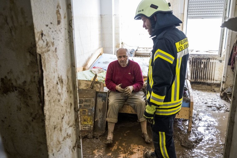 Image: Germany Continues Evacuation And Rescue From Floods As Death Toll Rises