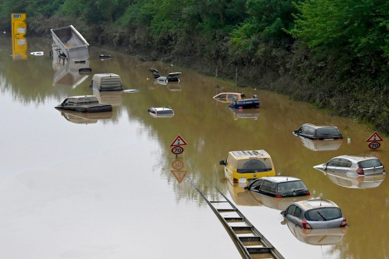 Image: TOPSHOT-GERMANY-EUROPE-WEATHER-FLOODS
