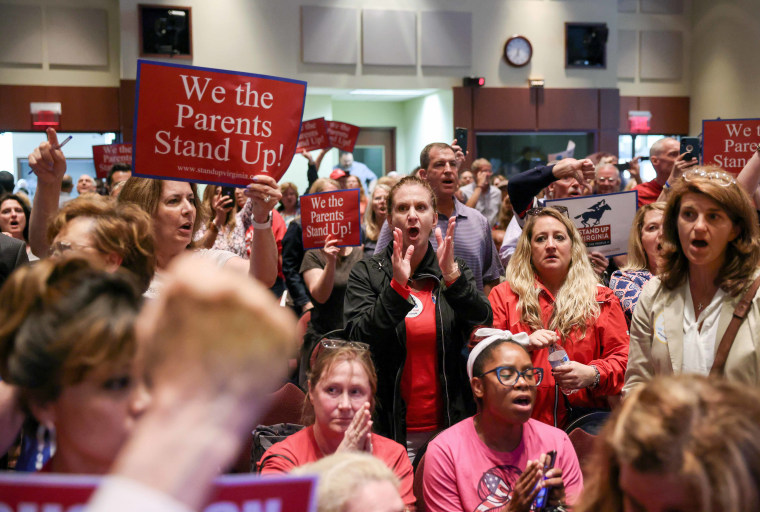 A Virginia School board meeting reflects a battle playing out across the country over a once-obscure academic doctrine known as Critical Race Theory, in Ashburn