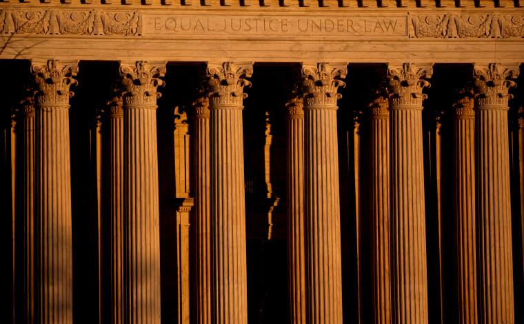 Image: The Supreme Court in Washington on Jan. 22, 2021.
