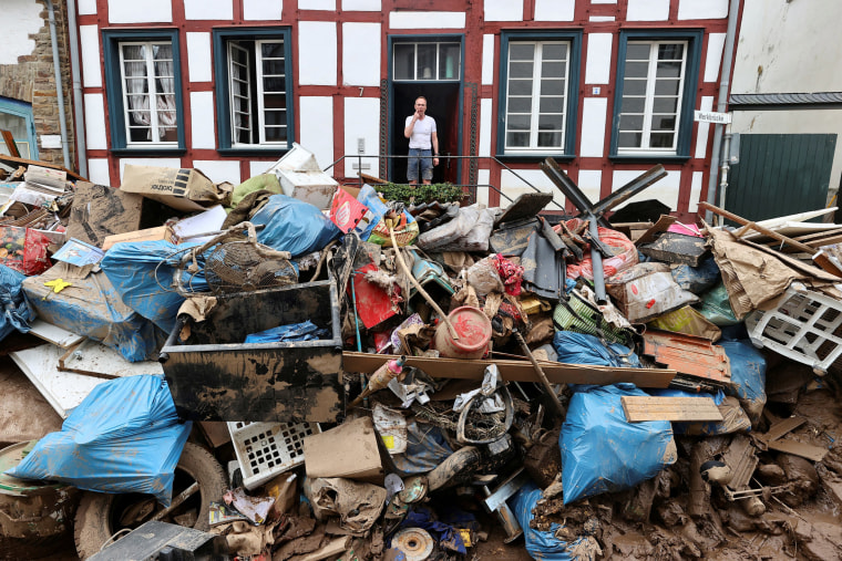 Image: Aftermath of heavy rainfalls in Germany