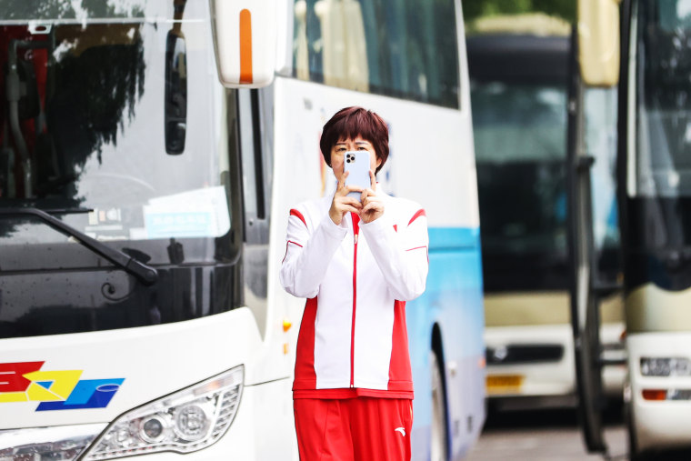 China Women's Volleyball Team Depart For Tokyo 2020 Olympic Games