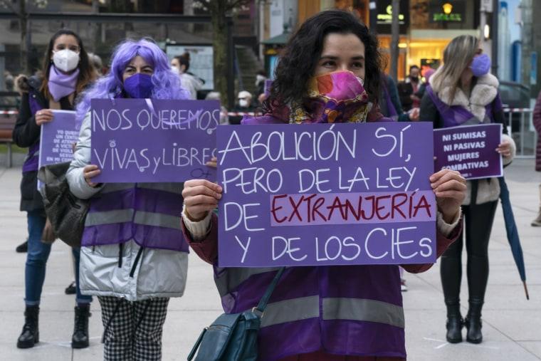 Image: International Women's Day In Santander