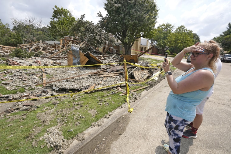 Image: Plano house explosion