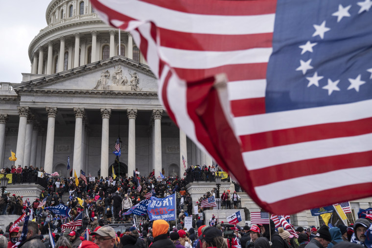 Trump supporters gather in Washington DC to protest election he lost