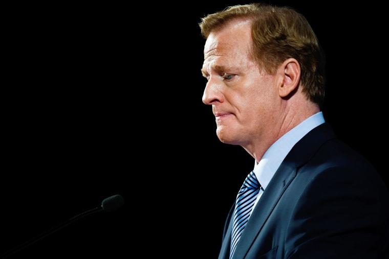 Image: NFL Commissioner Roger Goodell News Conference