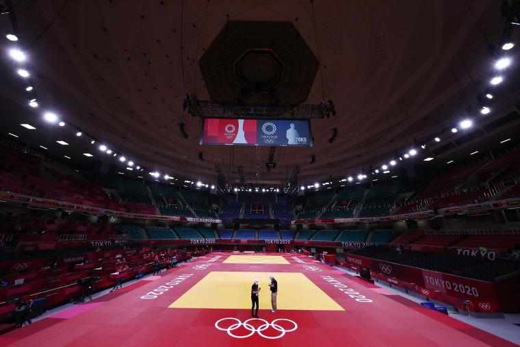 Image: Tokyo 2020 Olympics -  Judo - Training Sessions