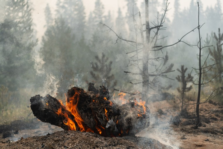 Image: Bootleg Fire Continues To Burn Across Southern Oregon