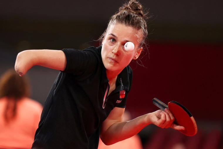 Image: Table Tennis - Women's Singles - Round 1