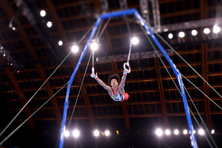 Image: Gymnastics - Artistic - Olympics: Day 1