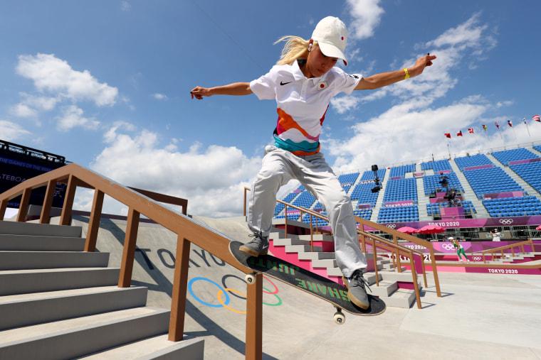 Image: Skateboarding Training Session