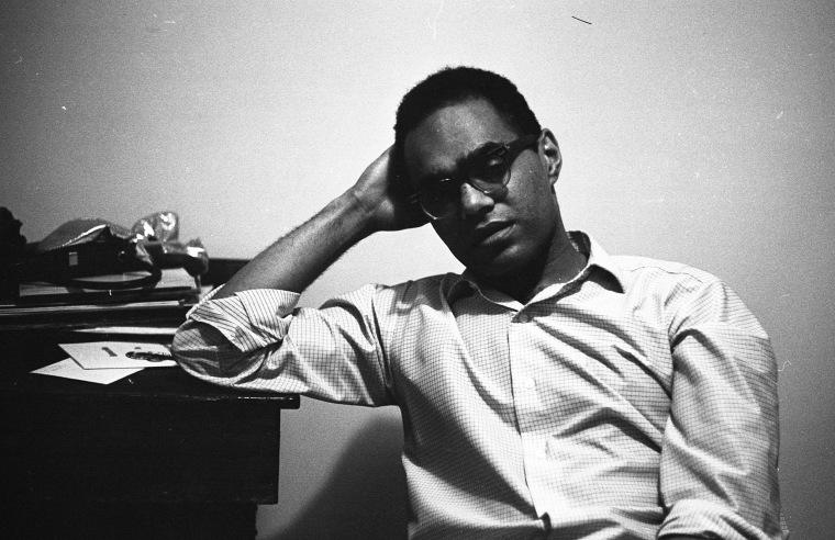 Civil rights activist activist Robert Parris Moses in New York in 1964.