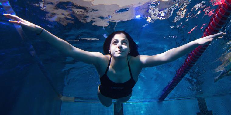 Refugee Swimmer Yusra Mardini