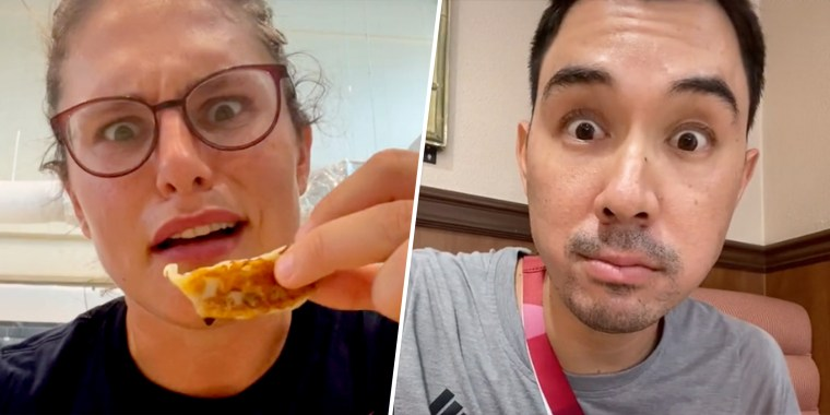 The reviews are in and Olympic athletes say the food at the dining halls is very, very good.