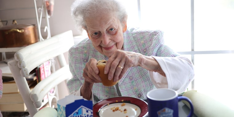 Lydia Motchan said she remembers when a coupon from the newspaper could get you six White Castle burgers for a quarter.
