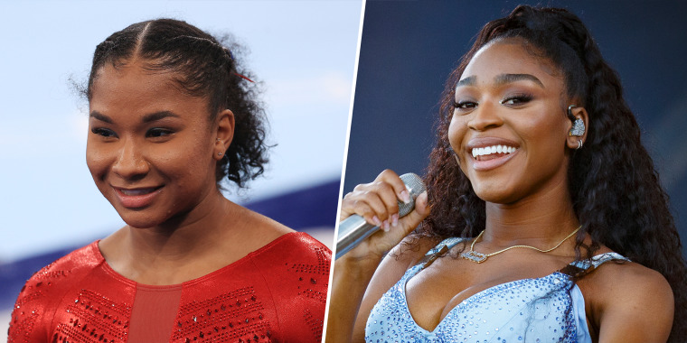 Jordan Chiles (left) is a huge fan of Normani, and it turns out the feeling is mutual!