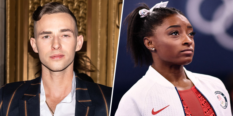 """Adam Rippon made a lengthy statement supporting Simone Biles' decision to pull out of Olympic competition this week, saying the sports industry was unfortunately used to """"applauding people who ignore limits."""""""