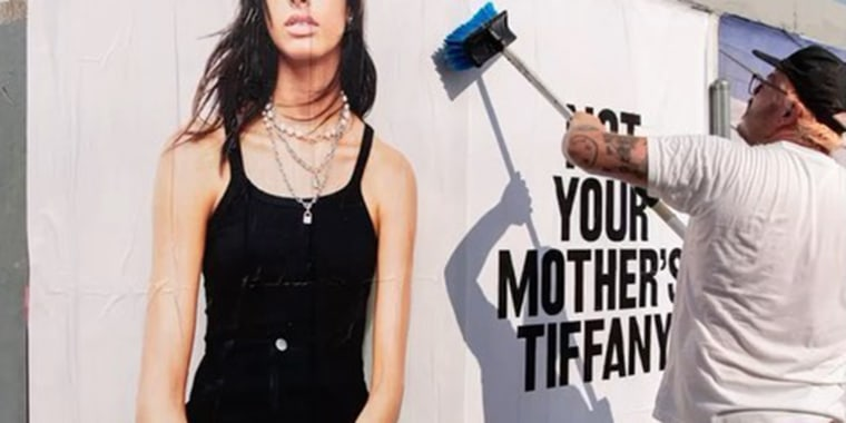 The new Tiffany campaign is a far departure from its classic branding.