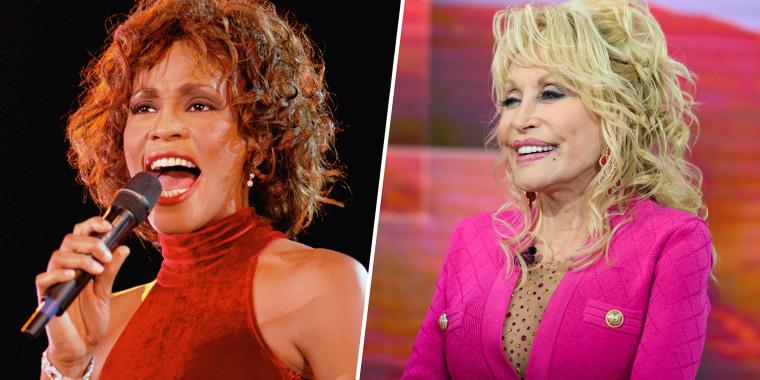 Whitney Houston and Dolly Parton