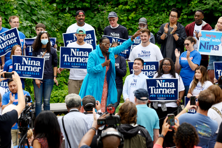 Rep. Ocasio-Cortez Campaigns With Ohio Congressional Candidate Nina Turner