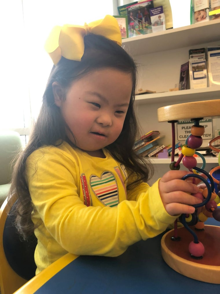 When Austin Carrigg spoke with other families who had kids with Down syndrome, many of them said their children had similar symptoms to Carrigg's daughter, Melanie. Carrigg began wondering if there was a connection.