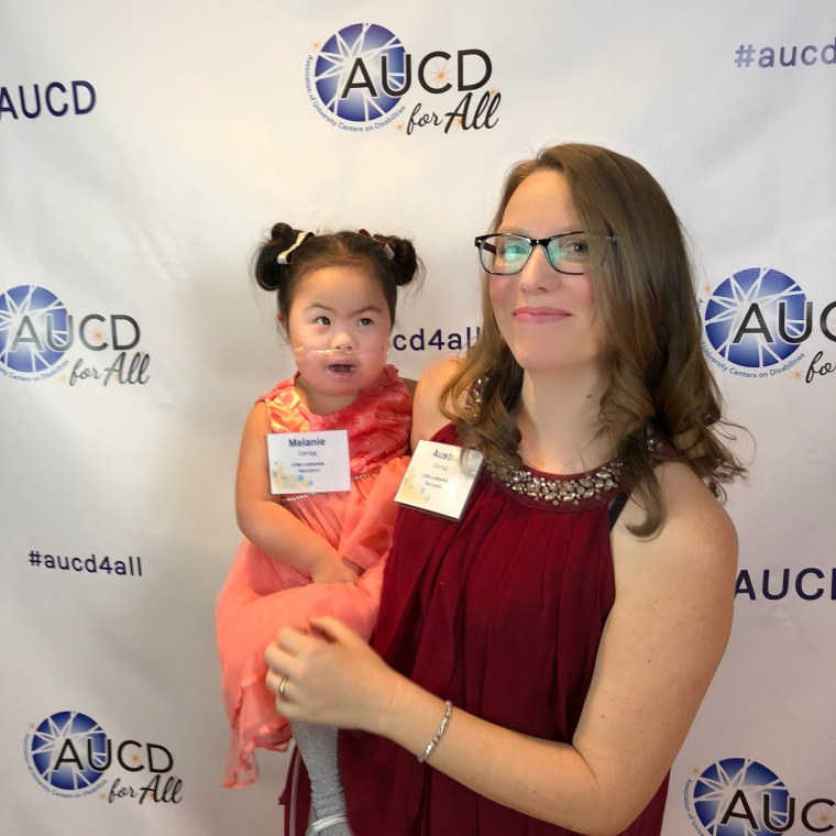 Austin Carrigg always suspected that daughter Melanie had some undiagnosed condition that led to her developmental delays. After years of pushing, she found an answer.