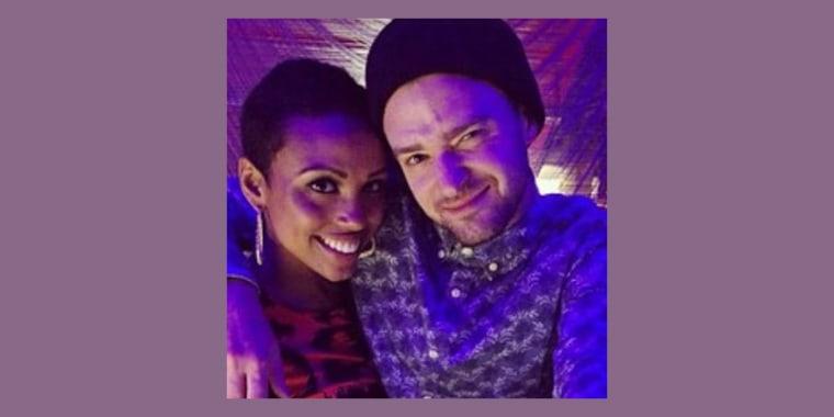 Justin Timberlake and Nicole Hurst