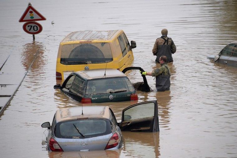 Image: Germany flooding