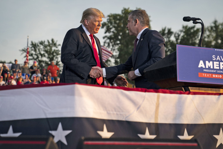 Former President Donald J. Trump Delivers Remarks at the First Post- Presidential Rally Sponsored by Save America