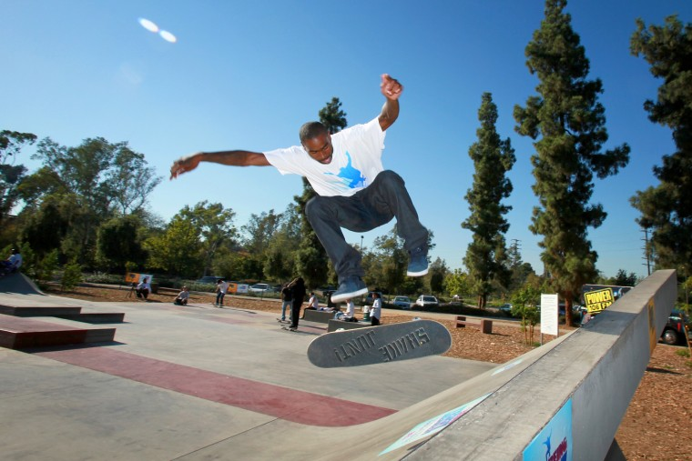 """BET's \""""Being Terry Kennedy\"""" Skater's Promotional Event"""