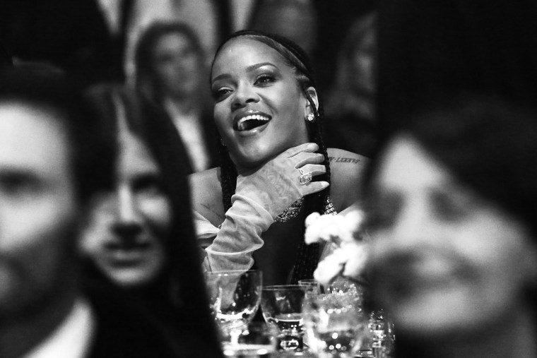 Image: Rihanna during The Fashion Awards at Royal Albert Hall on Dec. 2, 2019 in London.
