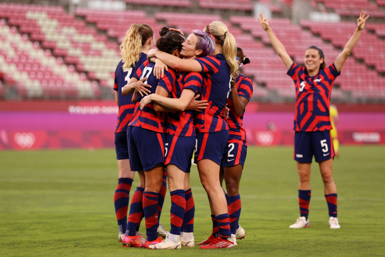 Image: United States v Australia: Bronze Medal Match Women's Football - Olympics: Day 13