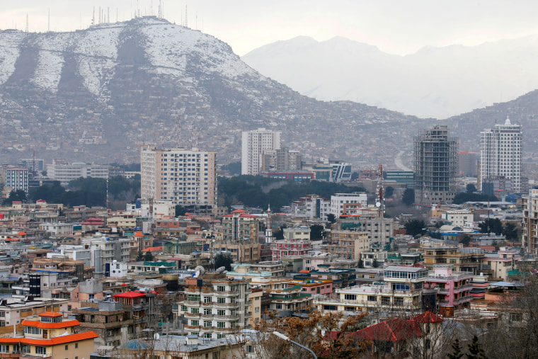 FILE PHOTO: A general view of green zone in Kabul, Afghanistan