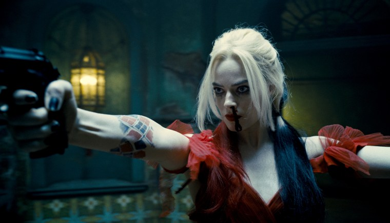 """Margot Robbie as Harley Quinn in Warner Bros. """"The Suicide Squad."""""""