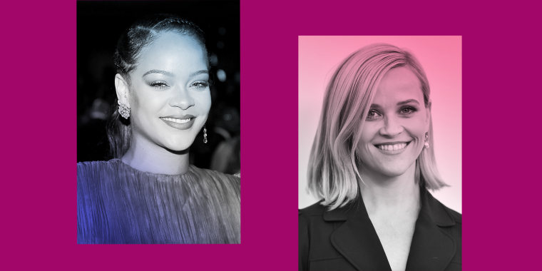 Rihanna and Reese Witherspoon.