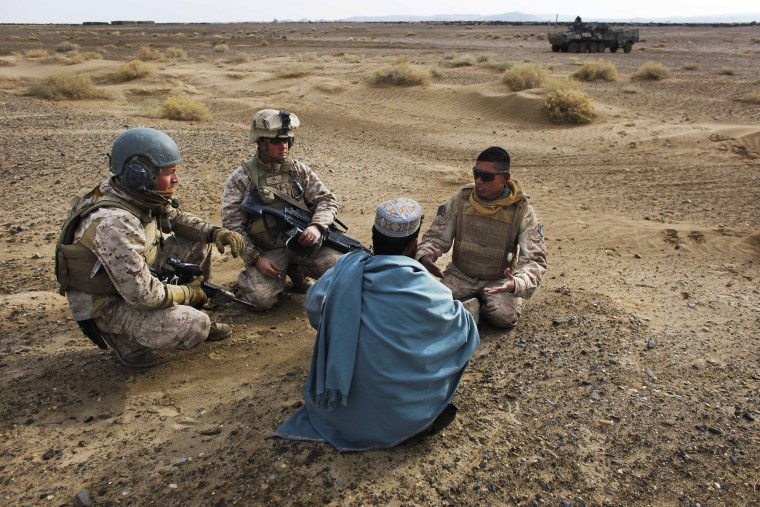 Image: Afghanistan interpreter