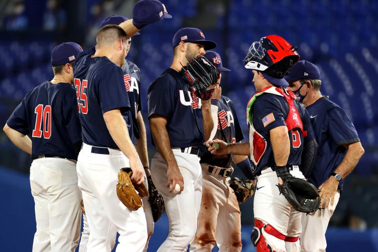 Image: United States v Japan - Baseball Gold Medal Game - Olympics: Day 15