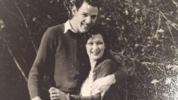 Theone Davis and her husband, Ted Davis.