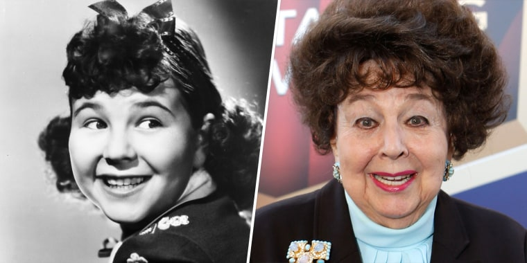 Jane Withers is a former child actor who bedeviled Shirley Temple on the screen.