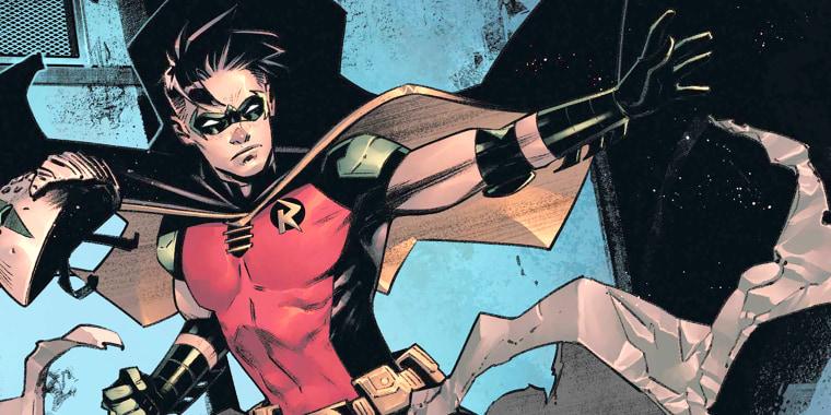 "Batman's ""Urban Legends"" series featuring Robin."