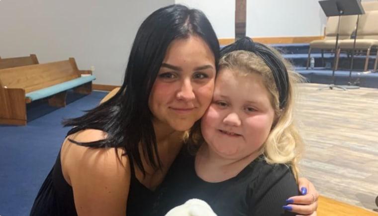 Mirsada Muric with her daughter, Blair.