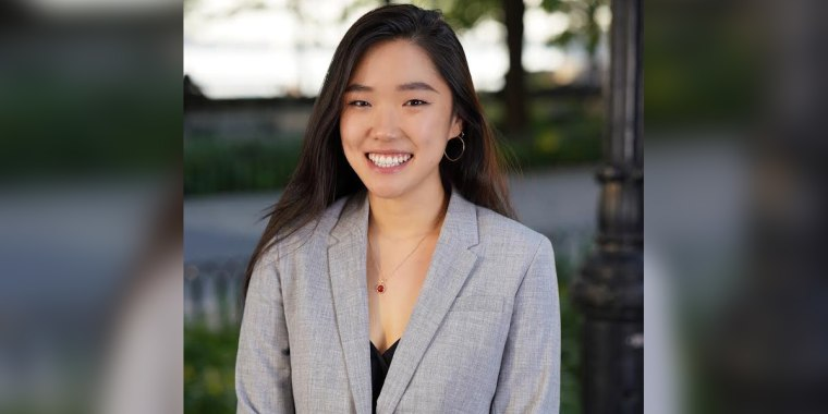 Agnes Lee, 26, is the editor-in-chief of the Georgetown Law Review.